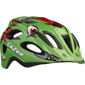 Lazer P'Nut Helmet with Insect Net Kids green dragon